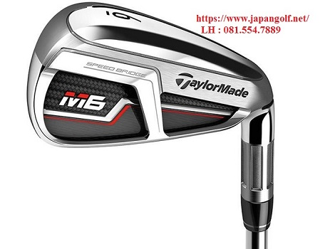 Gậy Golf IronSet TaylorMade M6 Steel Shaft