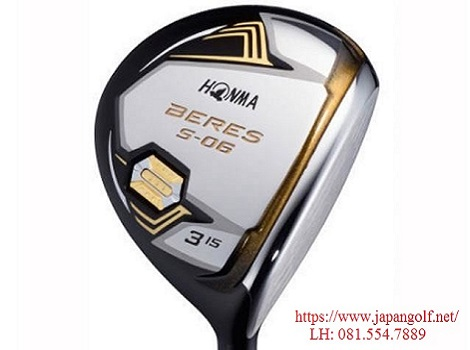 Gậy Golf Fairway Honma Beres IS- 06 3 Sao